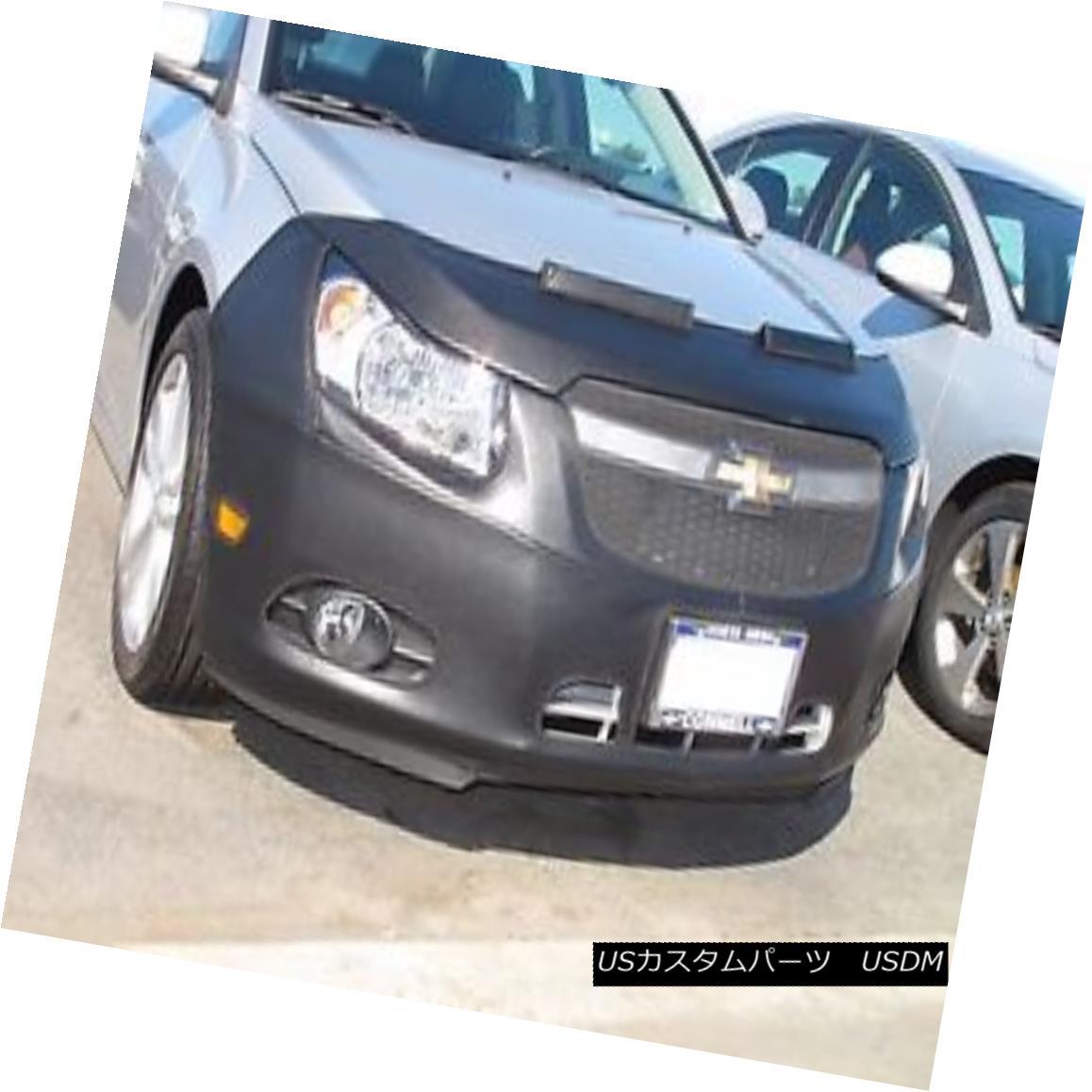 フルブラ ノーズブラ Colgan Front End Mask Bra 2pc. Fits Chevy Cruze 2011-2014 with License Plate コルガンフロントエンドマスクブラ2pc シェビークルーズ2011-2014にナンバープレート付き