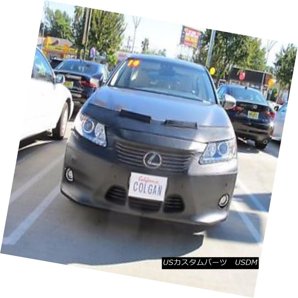 フルブラ ノーズブラ Colgan Front End Mask Bra 2pc. Fits Lexus ES350 & ES300H 13 14 15 W/O Lic.Plate コルガンフロントエンドマスクブラ2pc Lexus ES350& ES300H 13 14 15 W / O Lic.Plate