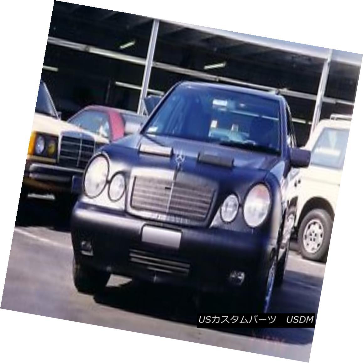フルブラ ノーズブラ Colgan Front End Mask Bra 2pc. Fits Mercedes Benz E300 E320 96-99 W/Lic.Plate コルガンフロントエンドマスクブラ2pc メルセデスベンツE300 E320 96-99 W / Lic.Plateに適合