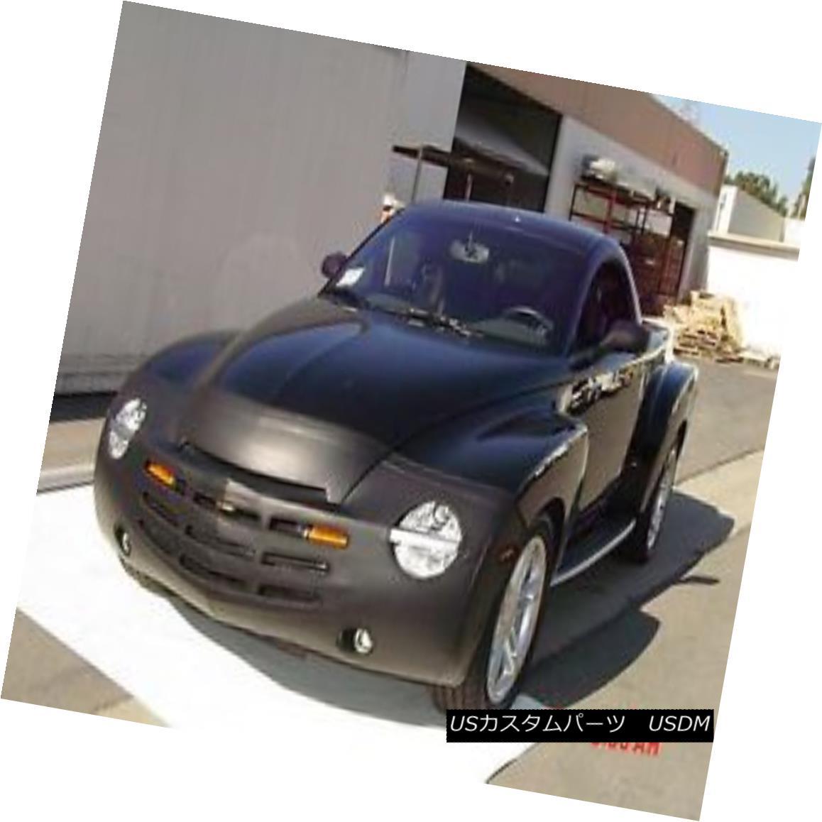フルブラ ノーズブラ Colgan Front End Mask Bra 2pc. Fits Chevy SSR W/O TAG, With Fogs 2003-2006  コルガンフロントエンドマスクブラ2pc Fogs 2003-2006でChevy SSR W / O TAGに適合