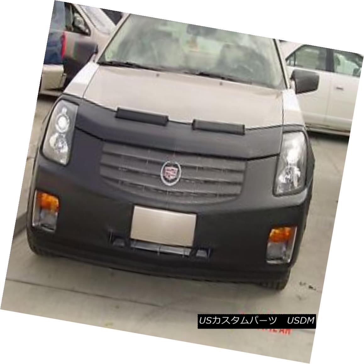 フルブラ ノーズブラ Colgan Front End Mask Bra 2pc. Fits Cadillac CTS 2003-2006 With License Plate コルガンフロントエンドマスクブラ2pc ライセンスプレート付きCadillac CTS 2003-2006に適合