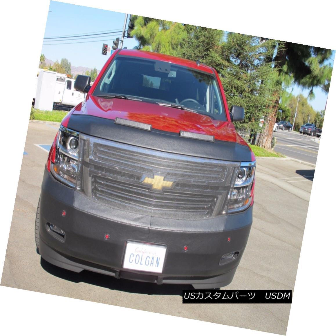 / End Sensors Chevy Fits Mask コルガンフロントエンドマスクブラ2pc Tahoe フルブラ W/License 2pc. Chevy Tahoe 2015-2016 W/O ノーズブラ W Bra Colgan 2015-2016 /ライセンスW Oセンサーに適合 Front