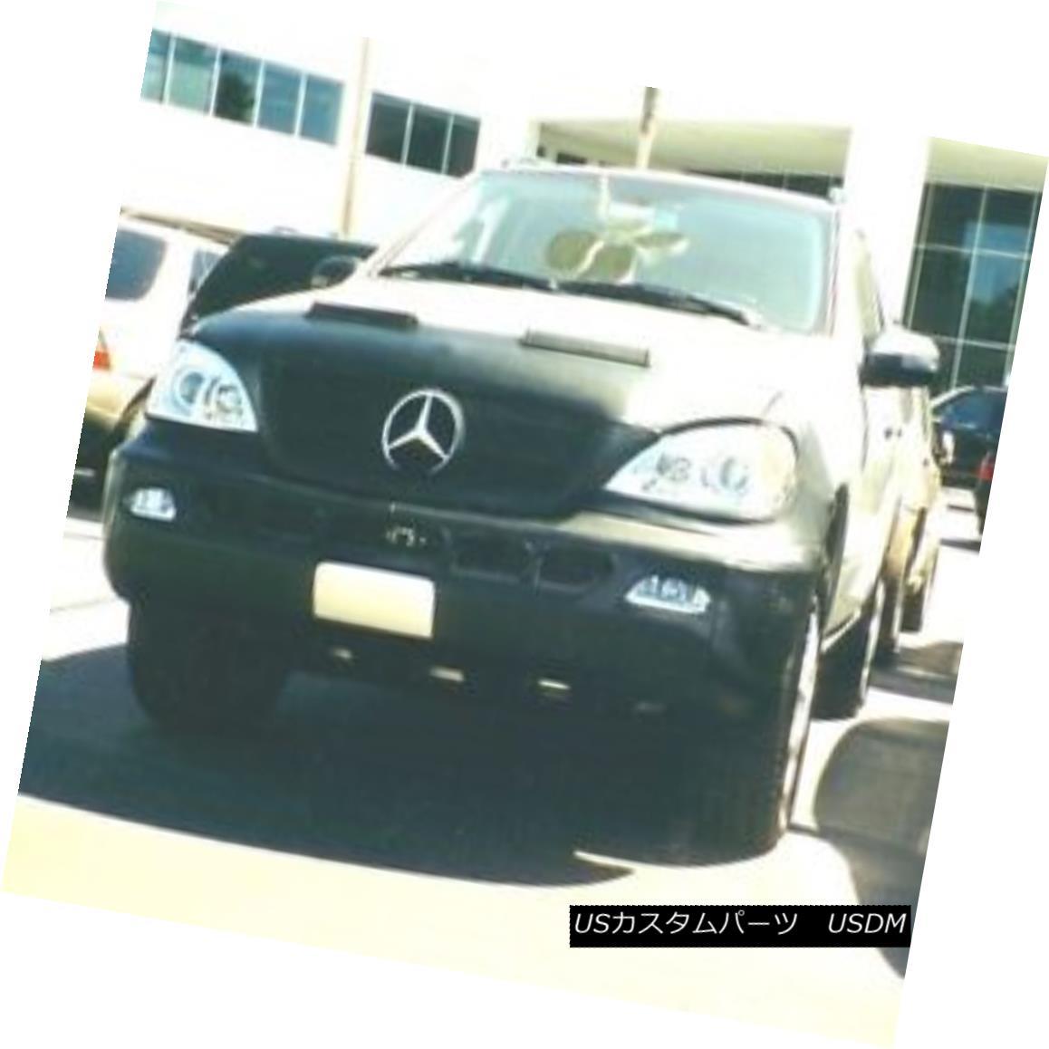 フルブラ ノーズブラ Colgan Front End Mask Bra 2pc. Fits Mercedes-Benz ML320 W/Lic.Plate 02 03 W/HW コルガンフロントエンドマスクブラ2pc メルセデスベンツML320 W / Lic.Plate 02 03 W / HWに適合