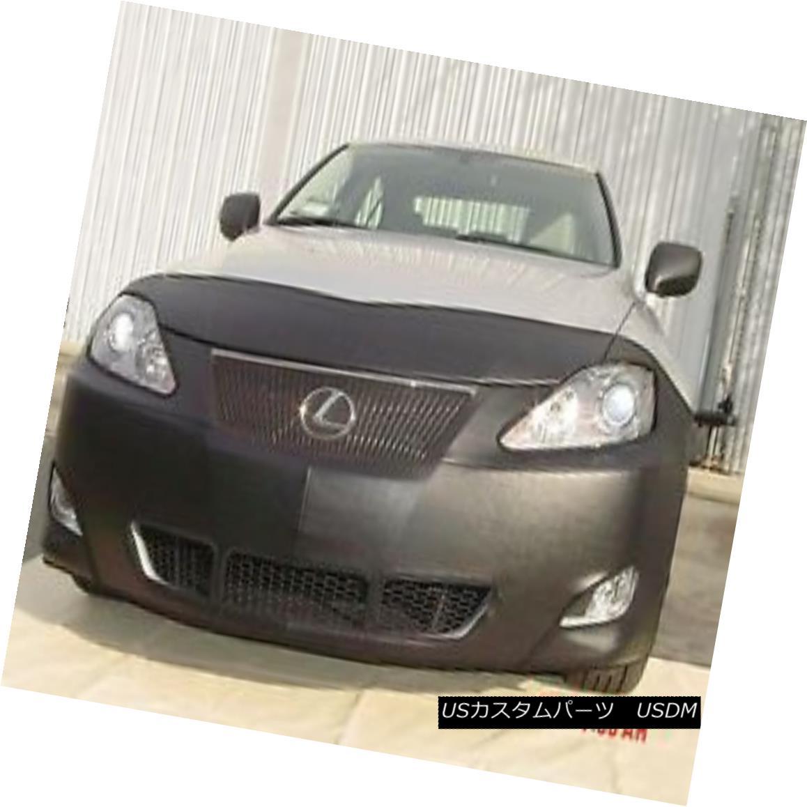 フルブラ ノーズブラ Colgan Front End Mask Bra 2pc. Fits 2006 2007 2008 Lexus IS250 & IS350 W/O TAG コルガンフロントエンドマスクブラ2pc フィット2006年2007年2008年レクサスIS250& IS350 W / O TAG