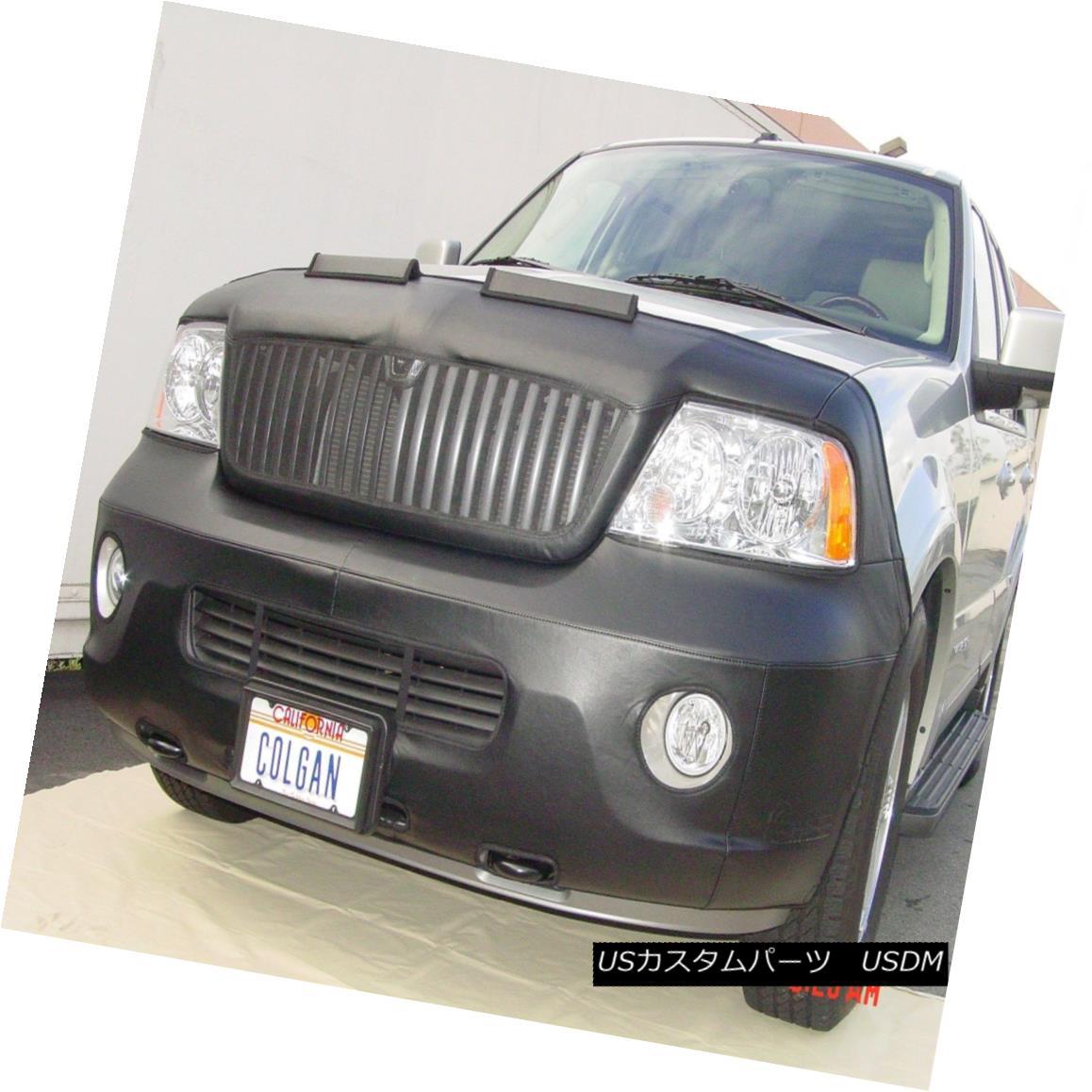 フルブラ ノーズブラ Colgan Front End Mask Bra 2pc. Fits Lincoln Navigator 2003-2004 With Front Tag コルガンフロントエンドマスクブラ2pc Lincoln Navigator 2003-2004のフロントタグ付き