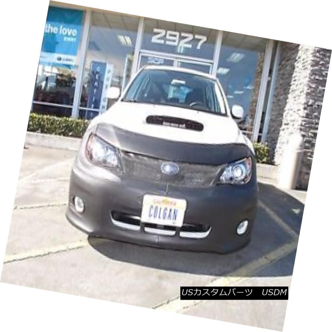 フルブラ ノーズブラ Colgan Front End Mask Bra 2pc. Fits Subaru Impreza WRX & STI 2011-2013 W/O TAG コルガンフロントエンドマスクブラ2pc フィットSubaru Impreza WRX& STI 2011-2013 W / O TAG