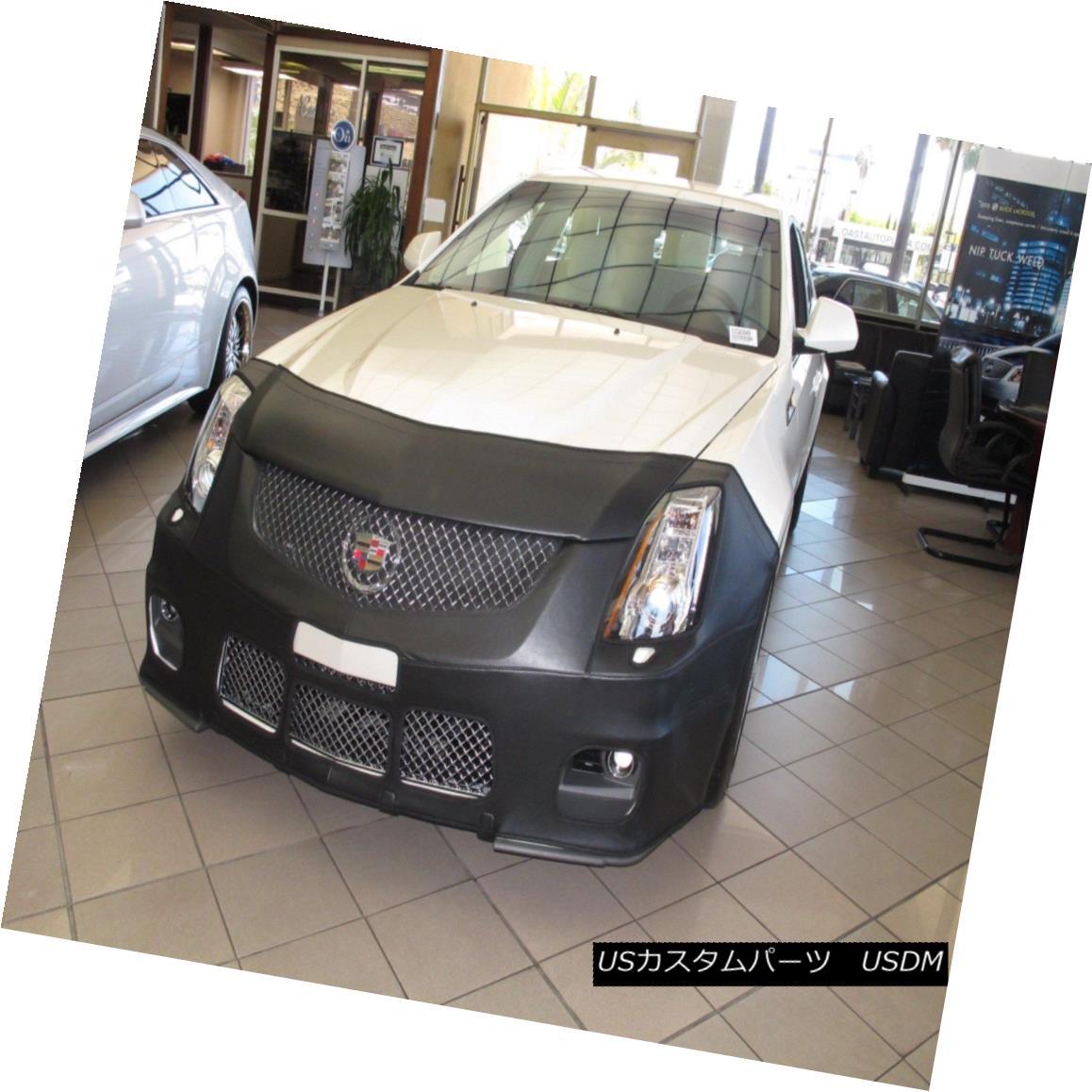 フルブラ ノーズブラ Colgan Front End Mask Bra 2pc. Fits Cadillac CTS-V Only 09-15 W/O TAG, W/Washers コルガンフロントエンドマスクブラ2pc Cadillac CTS-Vにのみ適合09-15 W / O TAG、ワッシャー付き