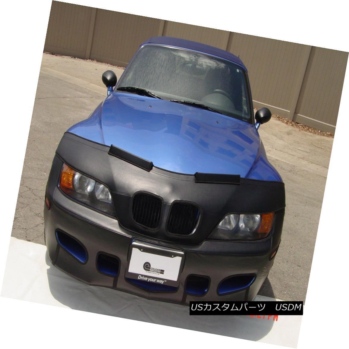 フルブラ ノーズブラ Colgan Front End Mask Bra 2pc. Fits BMW Z3 3.2 98-2002 Without License Plate コルガンフロントエンドマスクブラ2pc BMW Z3 3.2 98-2002(ライセンスプレートなし)に適合