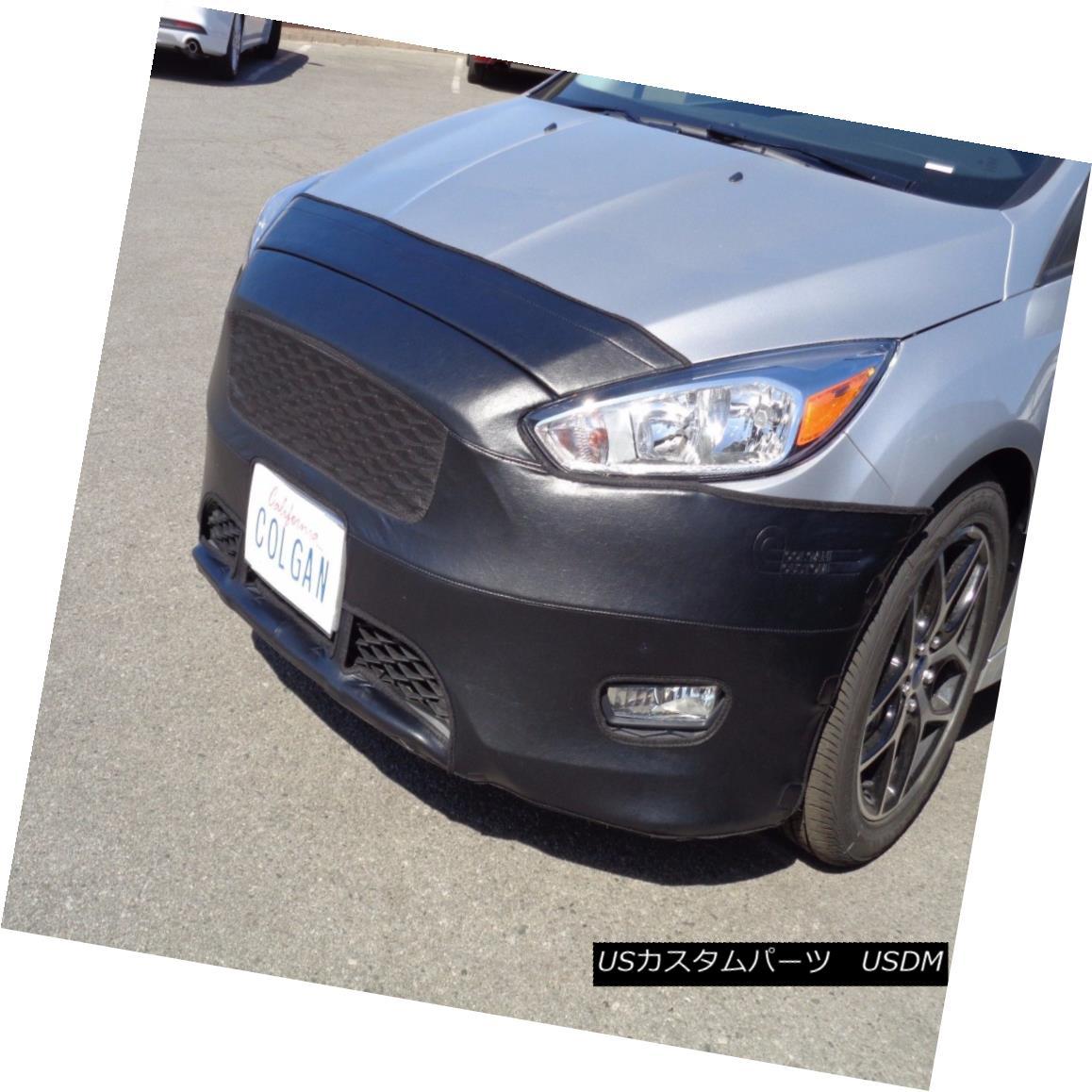 フルブラ ノーズブラ Colgan Front End Mask Bra 2pc. Fits Ford Focus SE Sedan 2015-2016 W/O License pl コルガンフロントエンドマスクブラ2pc Ford Focus SEセダン2015-2016 W / Oに適合ライセンスpl