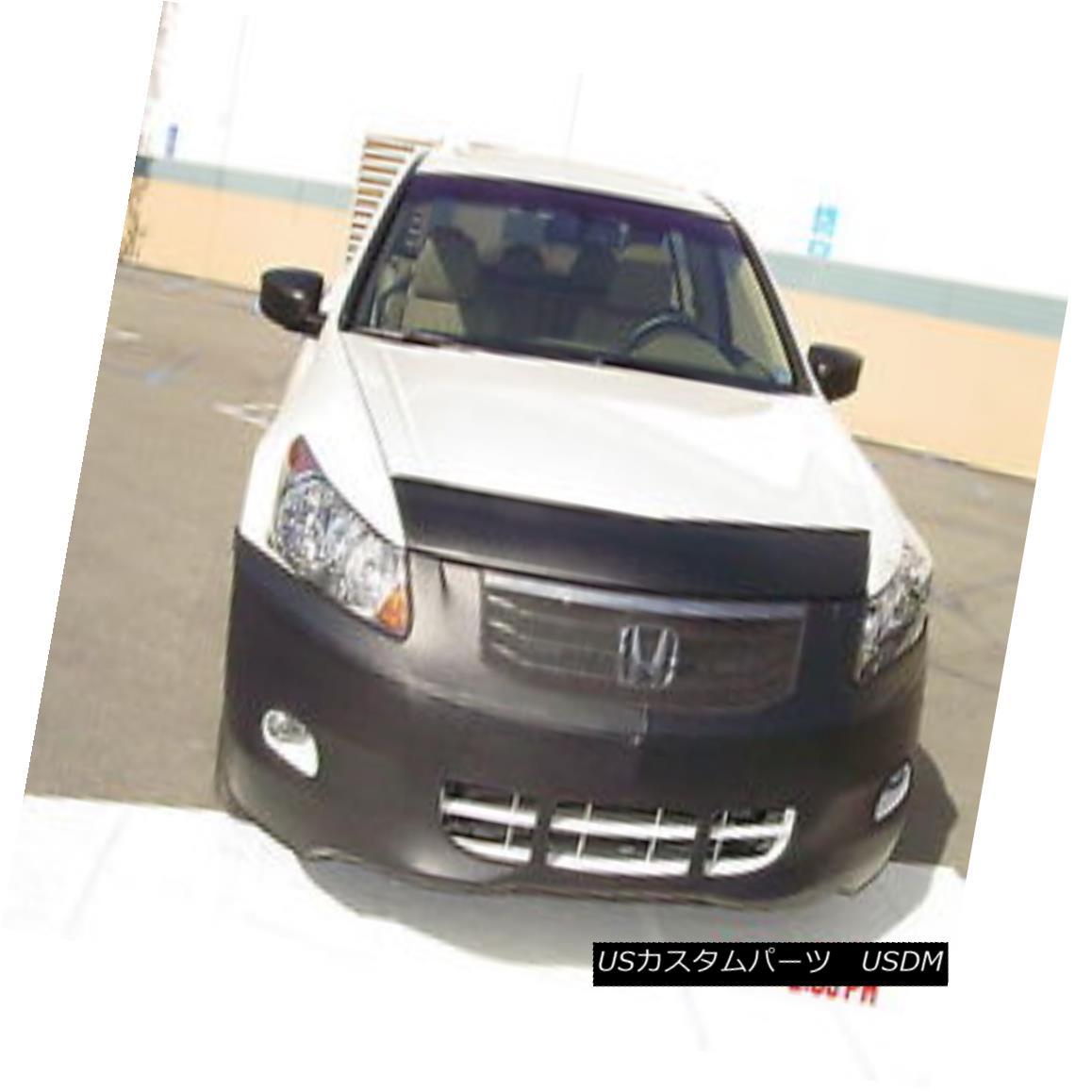 フルブラ ノーズブラ Colgan Front End Mask Bra 2pc. Fits Honda Accord Sedan 6CYL. W/Lic.PL 2008-2010 コルガンフロントエンドマスクブラ2pc ホンダアコードセダン6CYLに適合。 W / Lic.PL 2008-2010