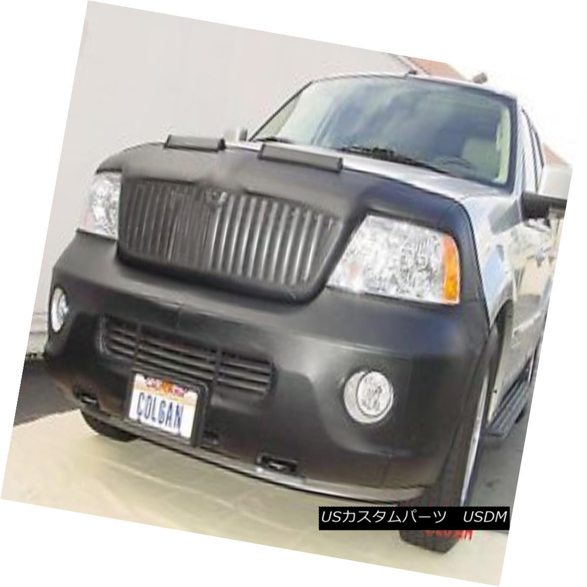フルブラ ノーズブラ Colgan Front End Mask Bra 2pc. Fits Lincoln Navigator 03-04 With License Plate コルガンフロントエンドマスクブラ2pc Lincoln Navigatorに適合する03-04ライセンスプレート付