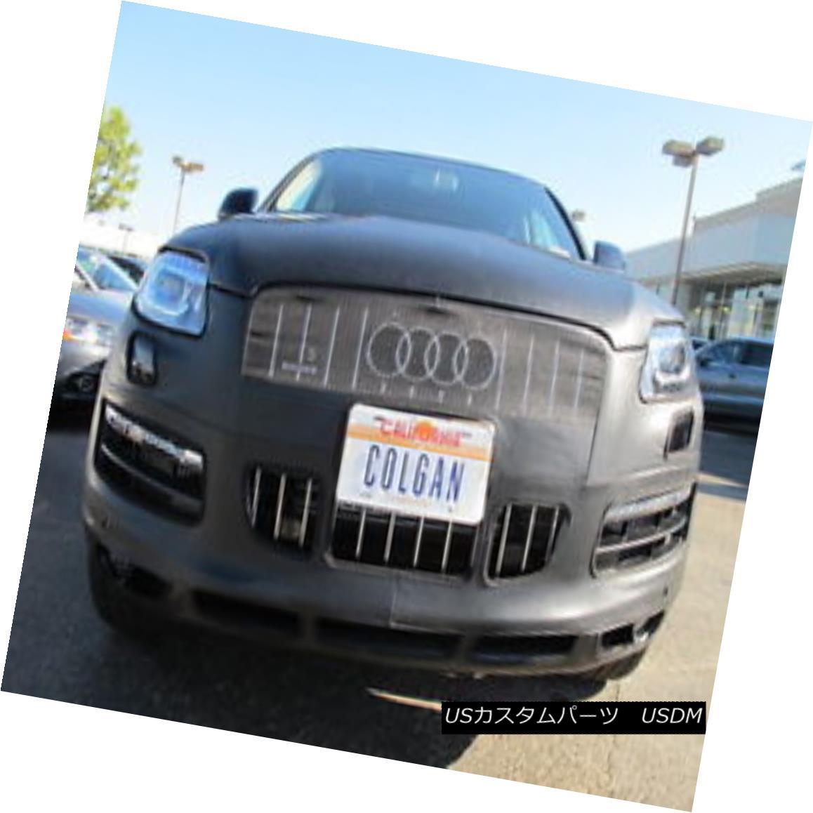 フルブラ ノーズブラ Colgan Front End Mask Bra 2pc. Fits Audi Q7 2011-14 W/License Plate,With Washer コルガンフロントエンドマスクブラ2pc Audi Q7 2011-14 W /ナンバープレート、ワッシャーに適合