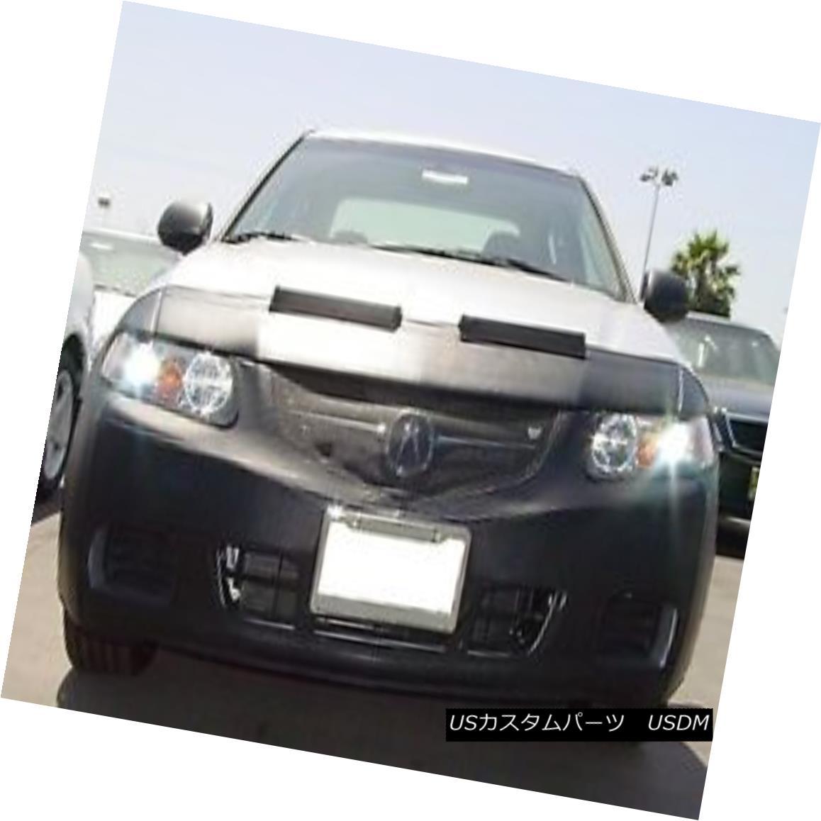 フルブラ ノーズブラ Colgan Front End Mask Bra 2pc. Fits Acura TSX 2004-2005 With License Plate コルガンフロントエンドマスクブラ2pc ライセンスプレート付きAcura TSX 2004-2005に適合