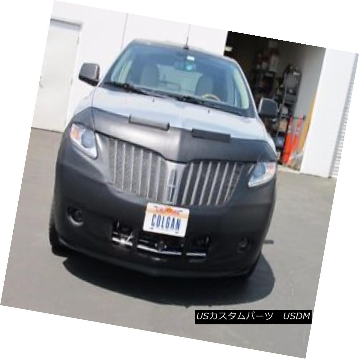 フルブラ ノーズブラ Colgan Front End Mask Bra 2pc. Fits Lincoln MKX 2011-2015 Without License Plate コルガンフロントエンドマスクブラ2pc ライセンスプレートなしのLincoln MKX 2011-2015に適合