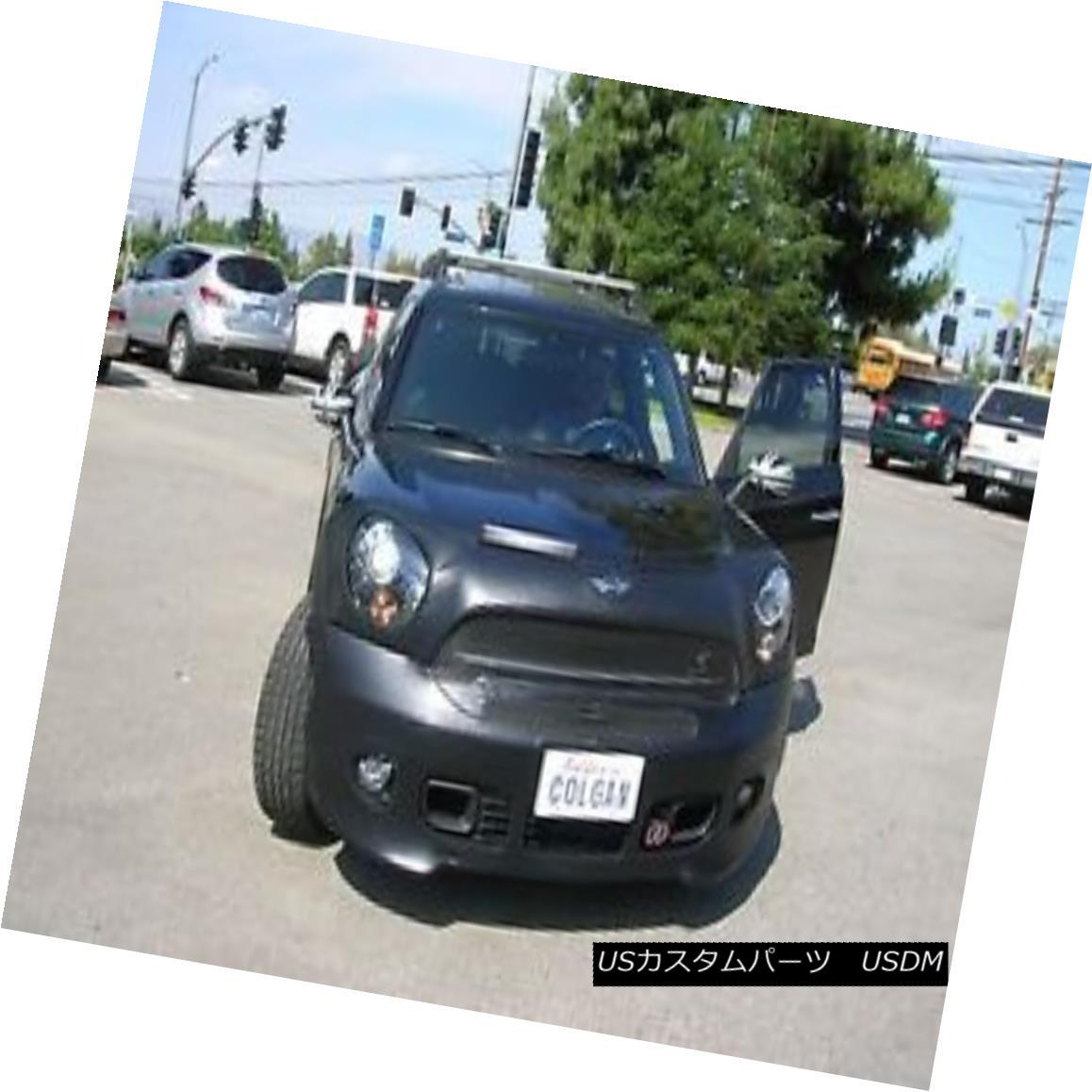 フルブラ ノーズブラ Colgan Front End Mask Bra 2pc. Fits 13-16 MINI Cooper Countryman JCW W/O License コルガンフロントエンドマスクブラ2pc フィット13-16 MINI Cooper Countryman JCW W / Oライセンス