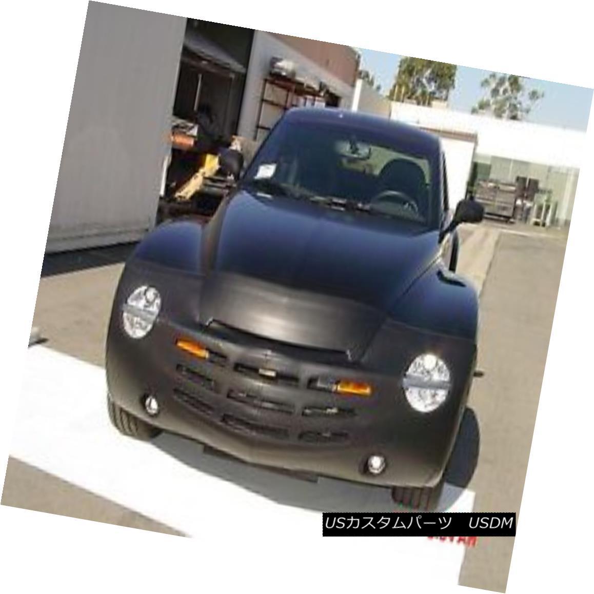 フルブラ ノーズブラ Colgan Front End Mask Bra 2pc. Fits Chevy SSR W/License Plate 2004-2006  コルガンフロントエンドマスクブラ2pc シェビーSSR W /ナンバープレート2004-2006に適合