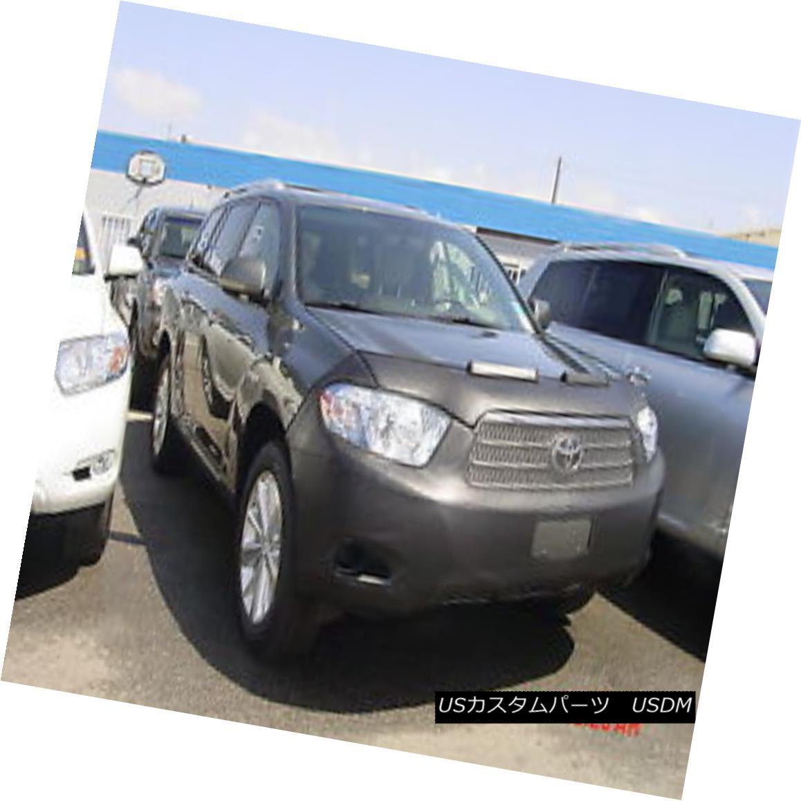 フルブラ ノーズブラ Colgan Front End Mask Bra 2pc. Fits Toyota Highlander 2008-2010 W/O LicensePlate コルガンフロントエンドマスクブラ2pc Toyota Highlander 2008-2010 W / Oライセンスプレートに適合