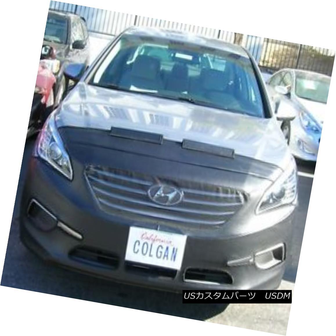 フルブラ ノーズブラ Colgan Front End Mask Bra 2pc. Fits Hyundai Sonata Hybrid & Plugin 15-16 W/O Tag コルガンフロントエンドマスクブラ2pc Hyundai Sonata Hybrid& amp; amp; プラグイン15-16 W / Oタグ