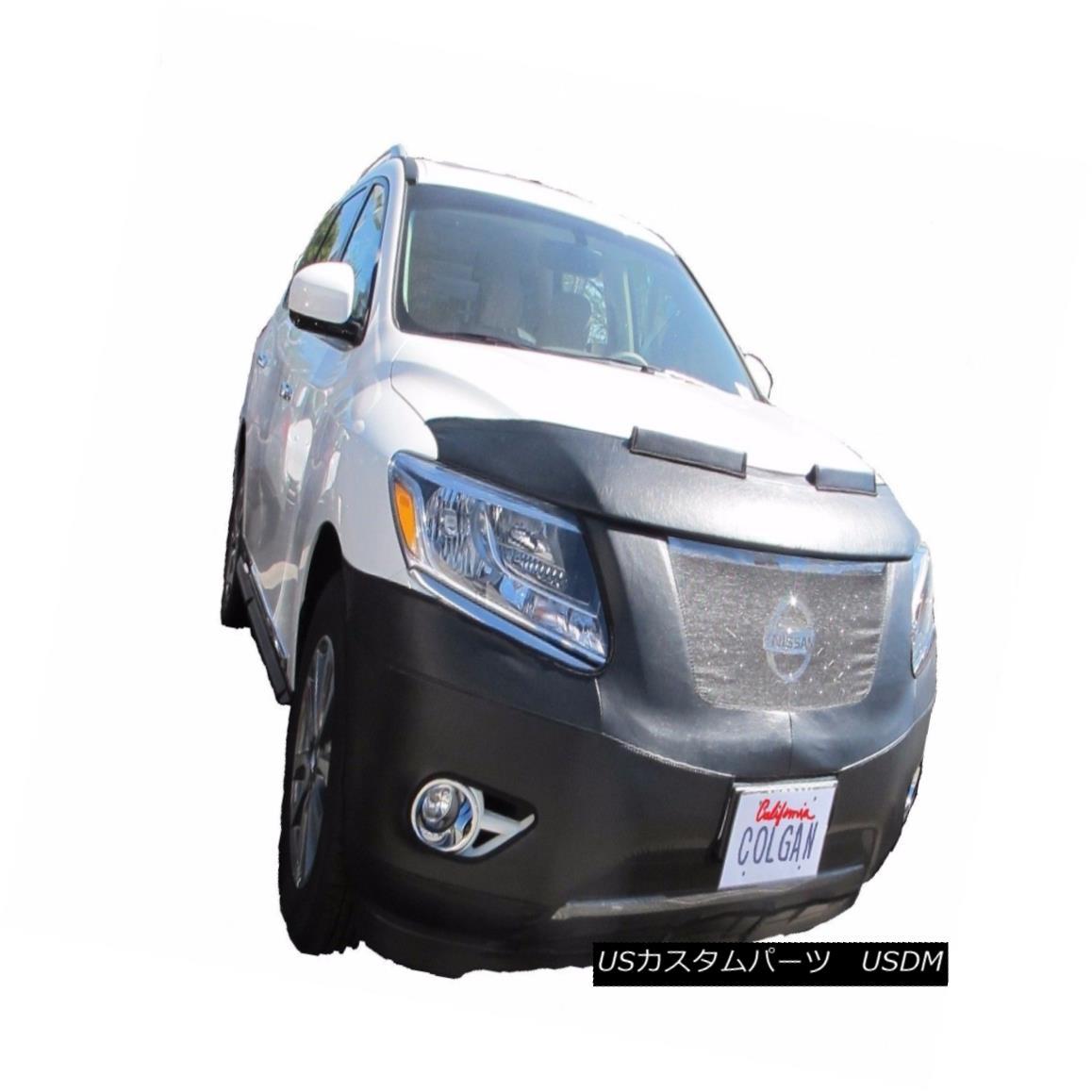 フルブラ ノーズブラ Colgan Front End Mask Bra 2pc. Fits Nissan Pathfinder S,SL,SV SUV 13-15 W/O Tag コルガンフロントエンドマスクブラ2pc 日産パスファインダーS、SL、SV SUV 13-15 W / Oタグに適合