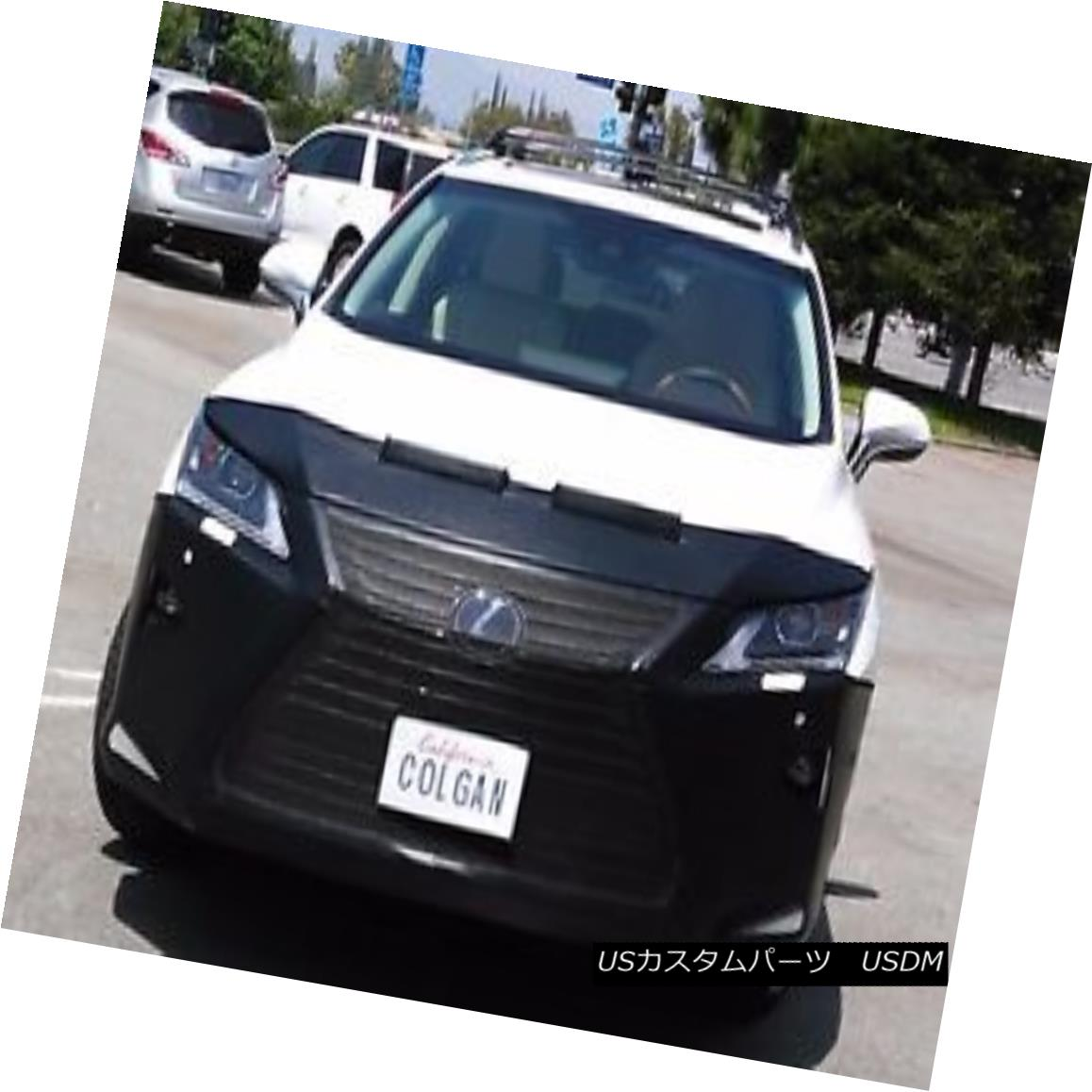 フルブラ ノーズブラ Colgan Front End Mask Bra 2pc. Fits 16-17 Lexus RX350 & RX450H W/O Licen,W/sensr コルガンフロントエンドマスクブラ2pc フィット16-17レクサスRX350& RX450H W / Oライセンス、W / sensr