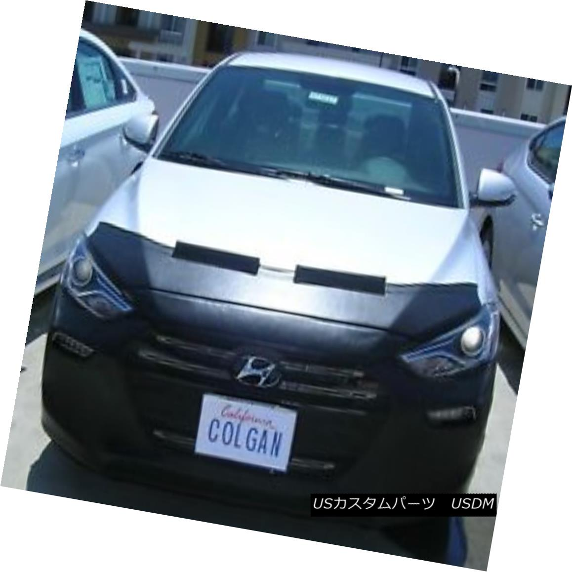 フルブラ ノーズブラ Colgan Front End Mask Bra 2pc. Fits Hyundai Elantra Sport 2017 17 W/O License PL コルガンフロントエンドマスクブラ2pc Hyundai Elantra Sport 2017 17 W / OライセンスPLに適合