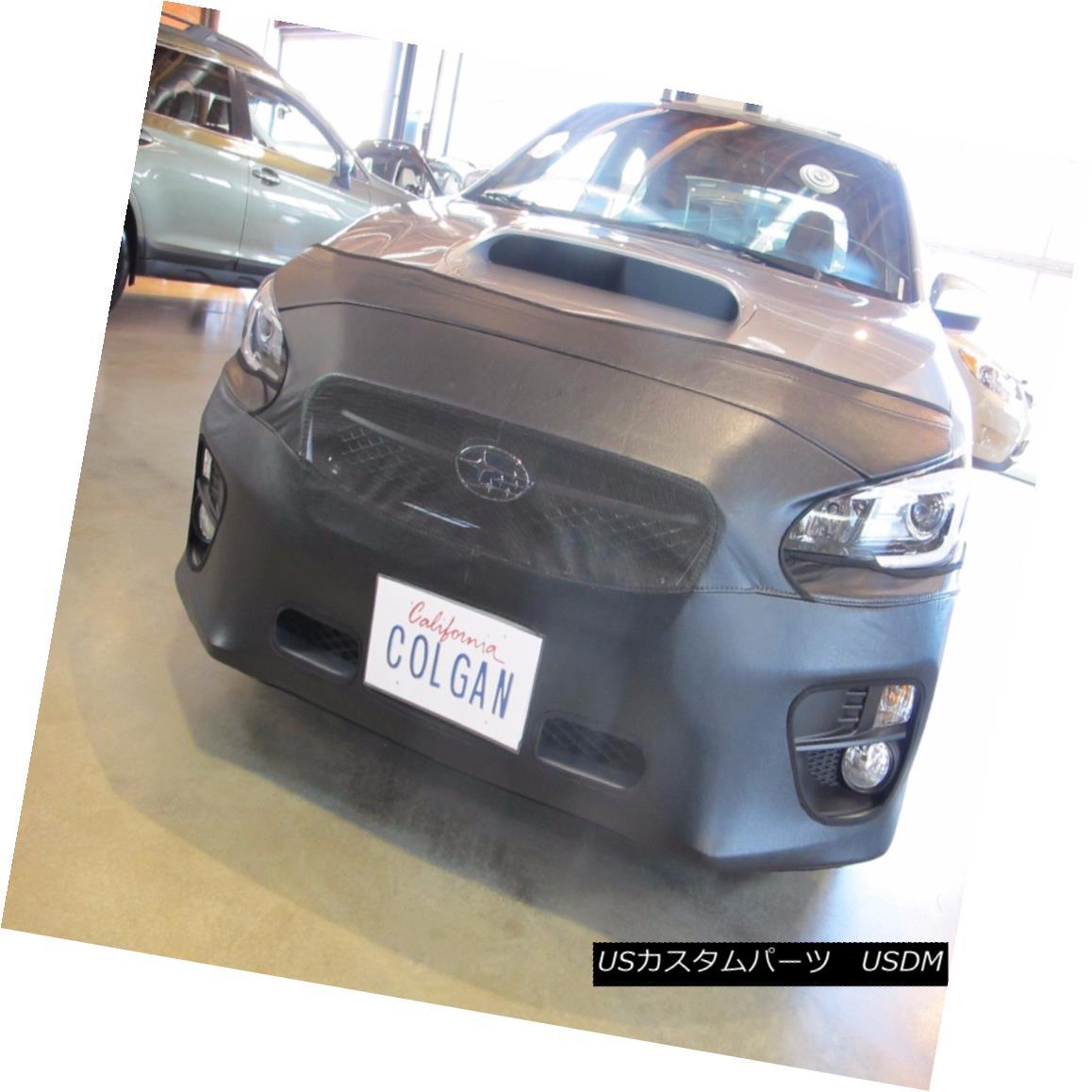 フルブラ ノーズブラ Colgan Front End Mask Bra 2pc. Fits Subaru Outback 2.5i Lim&PREM 2015-16 W/O TAG コルガンフロントエンドマスクブラ2pc Subaru Outback 2.5i Lim&PREM 2015-16 W / O TAGに適合