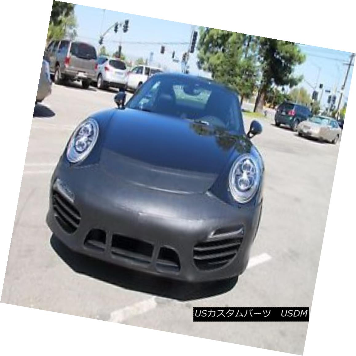 W 911 End S& 14-15 Porsche S&Cabriolet 14-15 コルガンフロントエンドマスクブラ2pc フルブラ Colgan Turbo Tag Front Bra Mask 911 ノーズブラ / Porsche Turbo Fits 2pc. W/O Cabriolet Oタグに適合