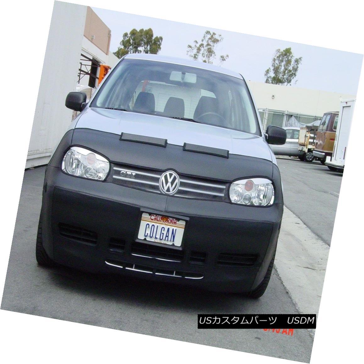 フルブラ ノーズブラ Colgan Front End Mask Bra 2pc. Fits 1999-2004 VW Golf, GL, GLS, GTI & TDI w/Tag コルガンフロントエンドマスクブラ2pc 1999?2004年のVWゴルフ、GL、GLS、GTI& タグ付きTDI