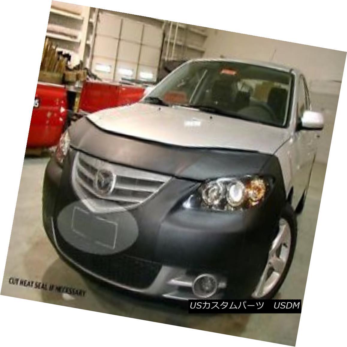 フルブラ ノーズブラ Lebra Front End Mask Cover Bra Fits MAZDA 3 Sedan 2003-2006 Exc 'i' & Mazdaspeed LebraフロントエンドマスクカバーブラはMAZDA 3 Sedanに適合2003-2006 Exc 'i'& Mazdaspeed
