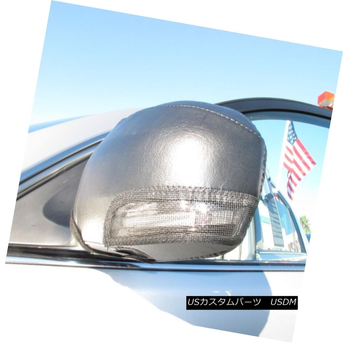 フルブラ ノーズブラ Colgan Car Mirror Covers Bra Protector Black Fits 2011-2013 Toyota Avalon コルガン車のミラーカバーは、2011年?2013年のトヨタアバロンに適合するブラケットプロテクターブラック