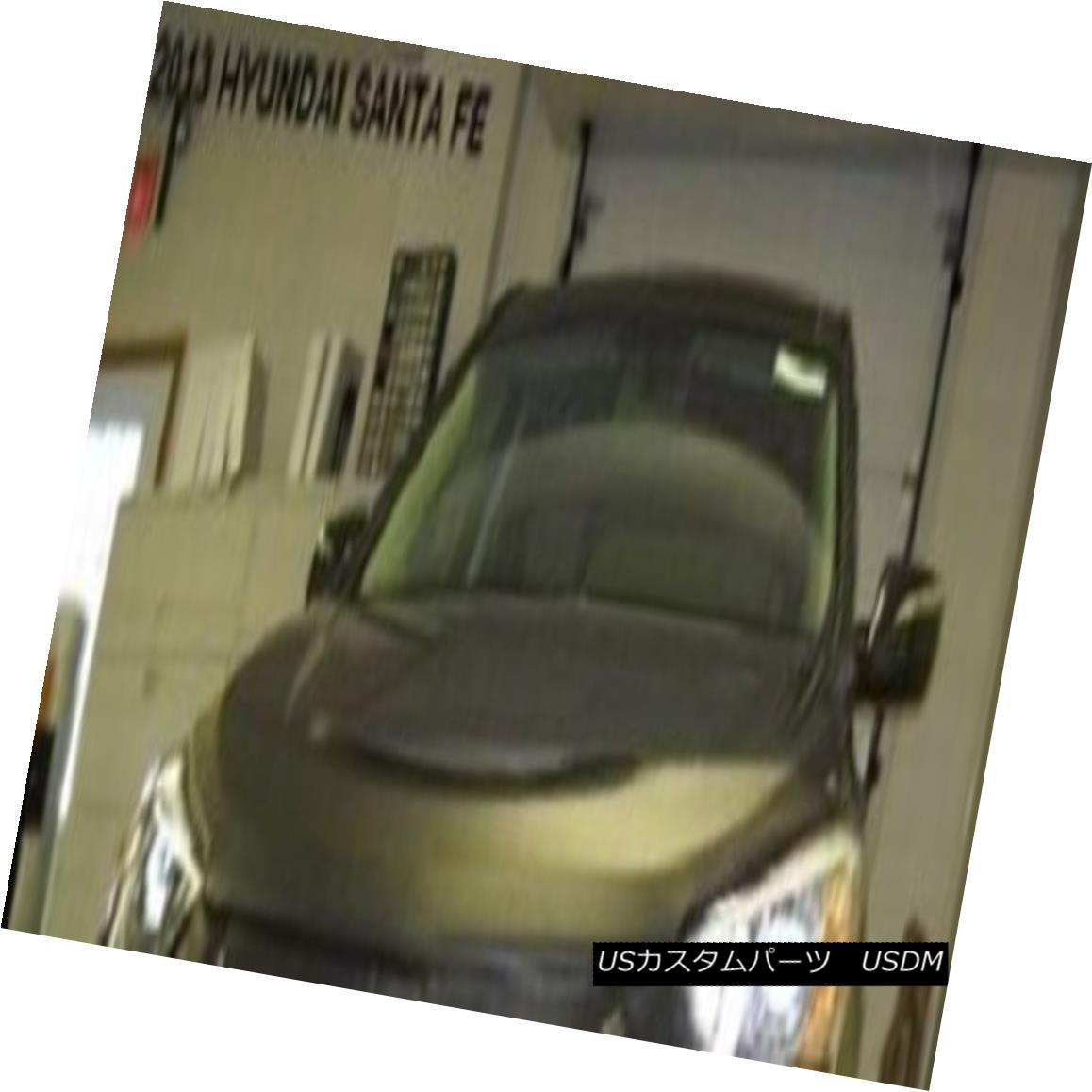 フルブラ ノーズブラ Lebra Hood Protector Mini Mask Bra Fits 2013-2018 Hyundai Santa Fe Lebraフードプロテクターミニマスクブラは2013-2018現代サンタフェを適合