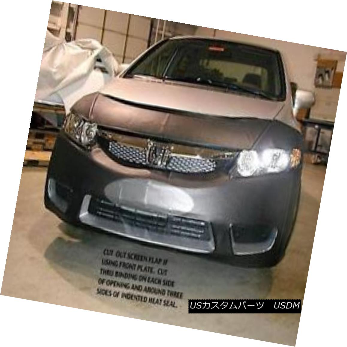 フルブラ ノーズブラ Lebra Front End Mask Cover Bra Fits HONDA CIVIC SEDAN & Hybrid 2009-2011 LebraフロントエンドマスクカバーブラはHONDA CIVIC SEDAN& ハイブリッド2009-2011
