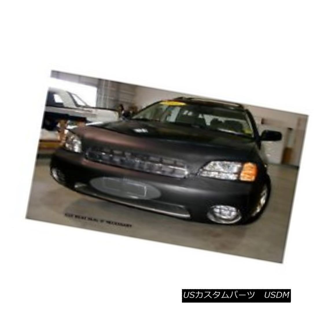 フルブラ ノーズブラ Lebra Front End Mask Cover Bra Fits SUBARU OUTBACK Sedan & Wagon 2000-2002 LebraフロントエンドマスクカバーブラはSUBARU OUTBACKに適合Sedan& ワゴン2000-2002
