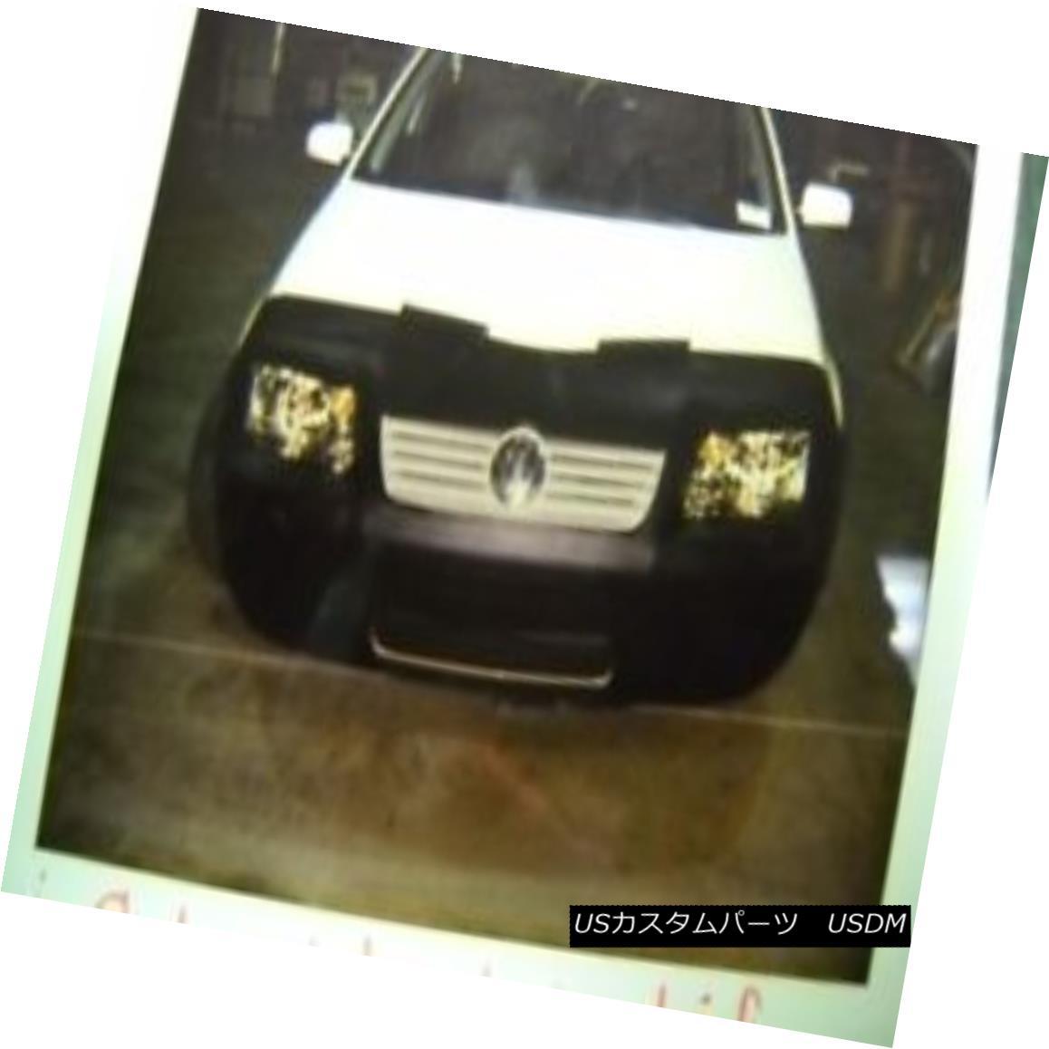 フルブラ ノーズブラ Lebra Front End Mask Cover Bra Fits 1999-2005 VW Jetta W/O park lights in bumper Lebraフロントエンドマスクカバーブラは1999-2005年に適合VW Jetta W / Oパークライトでバンパー