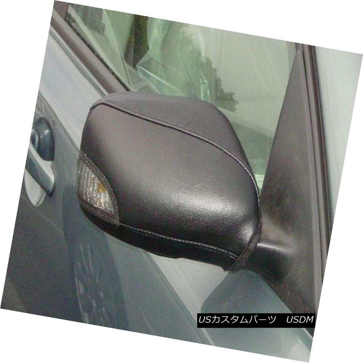 フルブラ ノーズブラ Colgan Car Mirror Covers Bra Protector Black Fits 2005-2006 VOLVO S40, T5 Sedan コルガン車のミラーカバーブラプロテクターブラックは2005-2006年に合うVOLVO S40、T5セダン