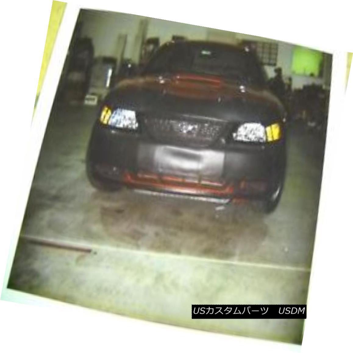 フルブラ ノーズブラ Lebra Front End Mask Cover Bra Fits Ford Mustang 1999-2004 LebraフロントエンドマスクカバーブラはFord Mustang 1999-2004に適合