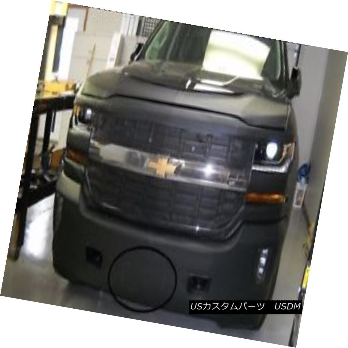 フルブラ ノーズブラ Lebra Front End Mask Bra Fits 2016-2018 Chevy Silverado 1500 W/O Park Assistant Lebraフロントエンドマスクブラは2016-2018 Chevy Silverado 1500 W / O Parkアシスタントに適合
