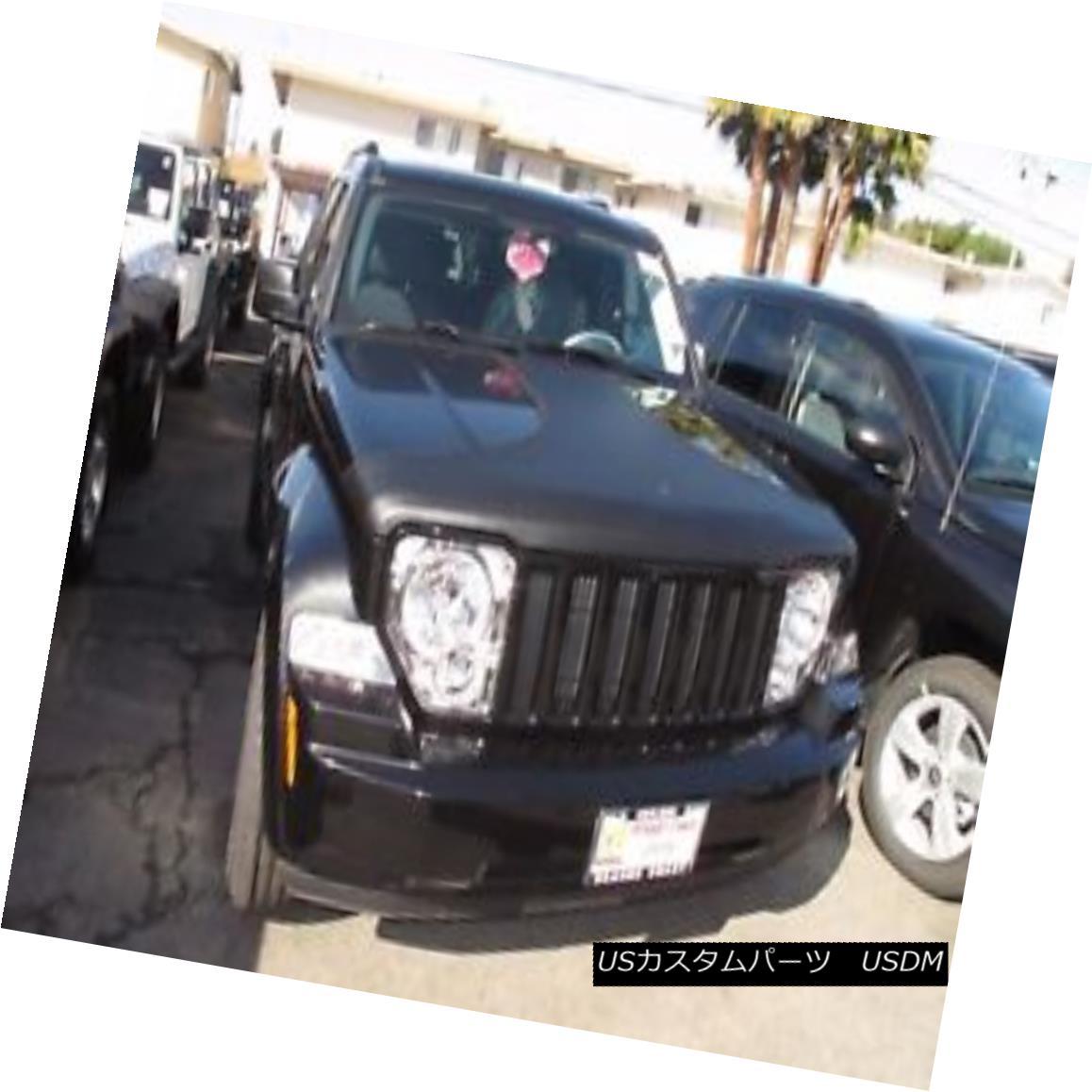 フルブラ ノーズブラ Colgan T-Style Hood Bra Mask Fits Jeep Liberty 2008-2012 コルガンT-スタイルフードブラジャーマスクジープリバティー2008-2012に適合