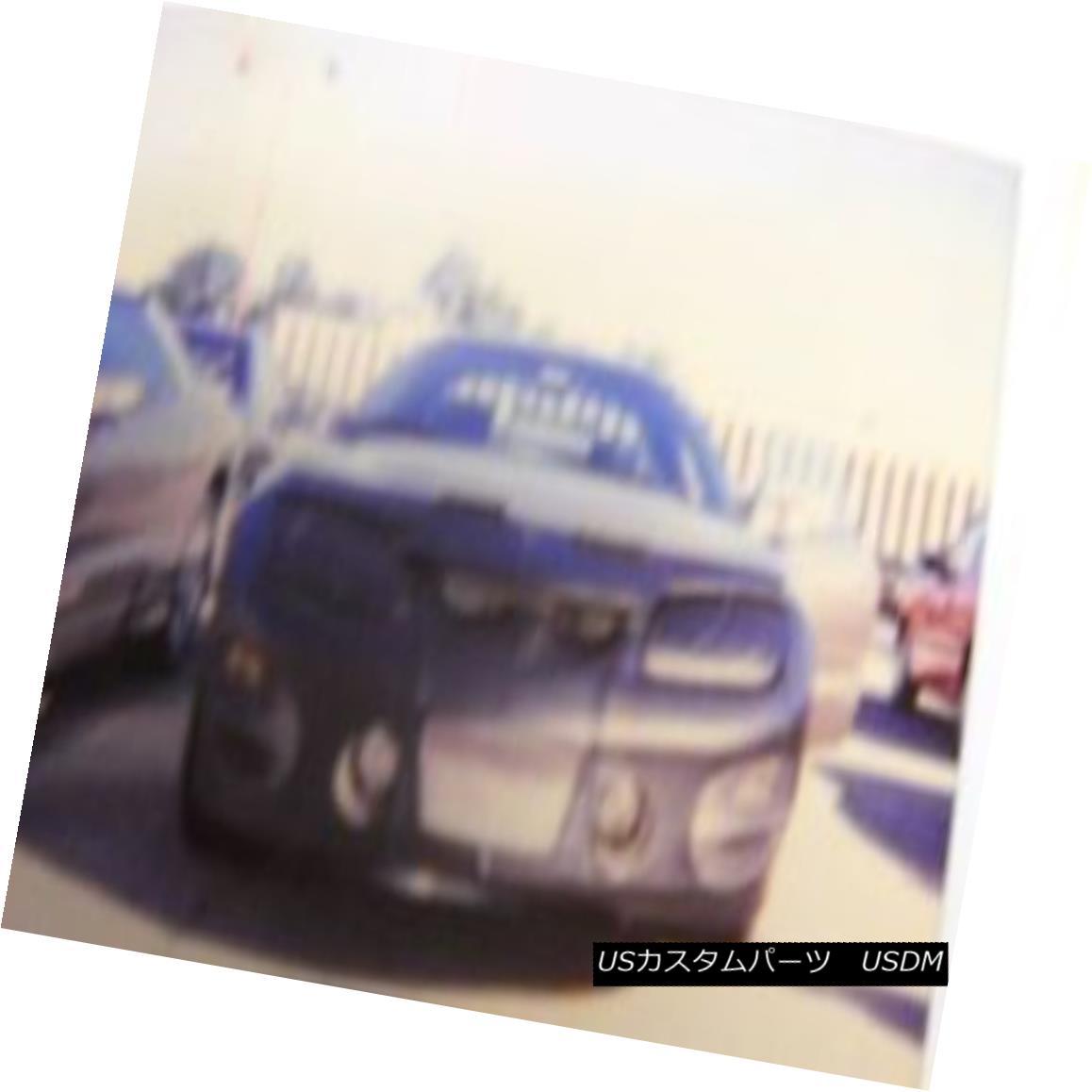フルブラ ノーズブラ Lebra Front End Mask Bra Fits PONTIAC Trans AM 1998-2002 98-02 w/light covers LebraフロントエンドマスクブラはPONTIAC Trans AM 1998-2002 98-02 w / light coverに適合