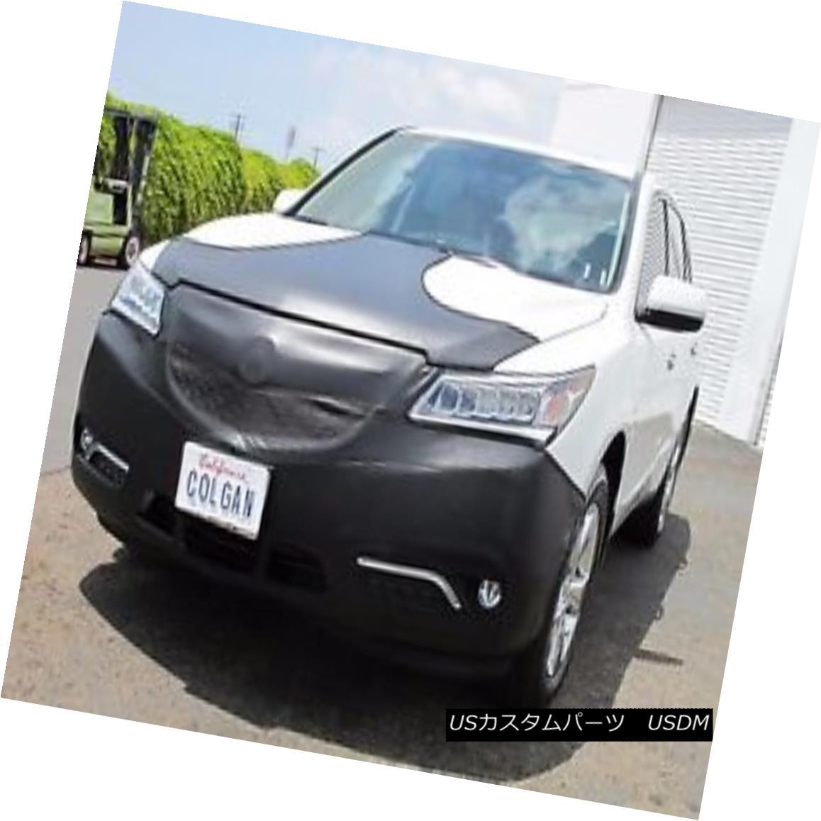 フルブラ ノーズブラ Colgan T Style Mask Bra 2pc. Fits Acura MDX SUV W/O Lic.Plate, W/Sensr 2014-2015 コルガンTスタイルマスクブラ2pc。 Acura MDX SUV W / O Lic.Plate、W / Sensr 2014-2015に適合