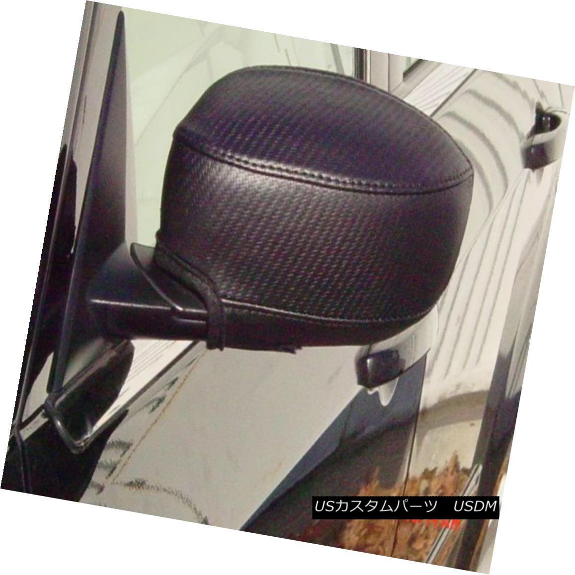 フルブラ ノーズブラ Colgan Car Mirror Covers Bra Protector Black Fits 2006-2010 Charger, R/T, SE&SXT コルガン車ミラーカバーブラプロテクターブラックフィット2006-2010充電器、R / T、SE&SXT