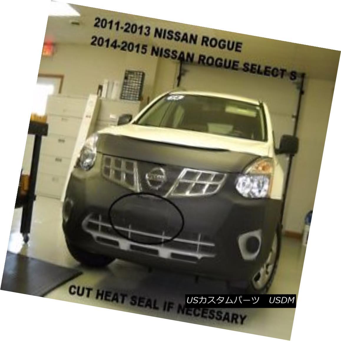 フルブラ ノーズブラ Lebra Front End Mask Cover Bra Fits Nissan Rogue 2011-2013 2011 2012 2013 LebraフロントエンドマスクカバーブラはNissan Rogueに適合2011-2013 2011 2012 2013