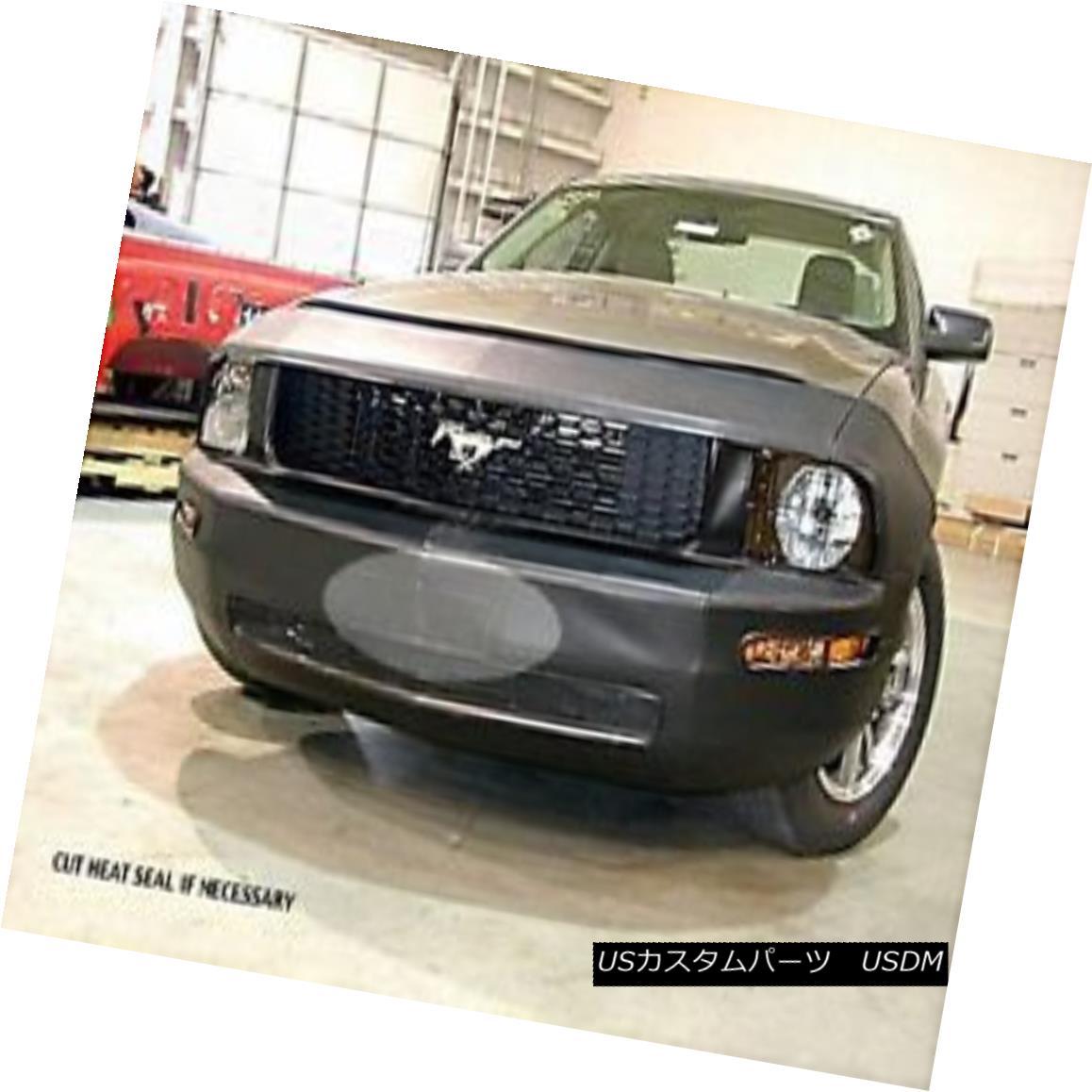フルブラ ノーズブラ Lebra Front End Mask Cover Bra Fits 2005 2006 2007 2008 2009 Ford Mustang Lebraフロントエンドマスクカバーブラフィット2005年2006 2007 2008 2009フォードマスタング