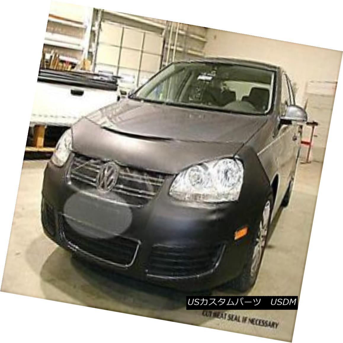 フルブラ ノーズブラ Lebra Front End Mask Cover Bra Fits VW Jetta 2005-2009 LebraフロントエンドマスクカバーブラはVW Jetta 2005-2009に適合