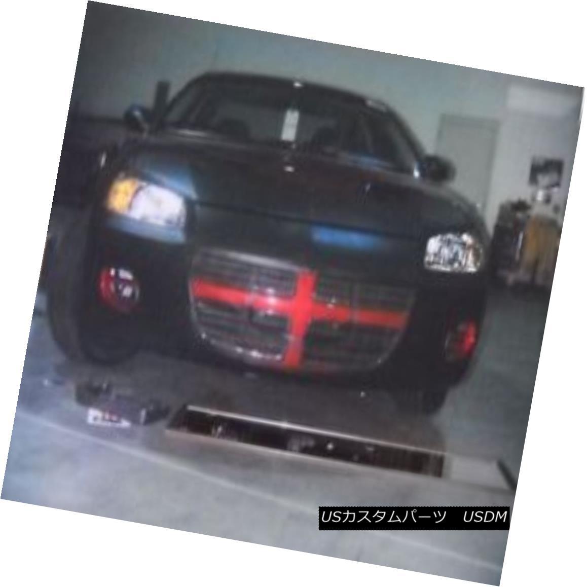 フルブラ ノーズブラ Lebra Front End Mask Bra Fits DODGE STRATUS 4 Dr. Sedan 2001-2003 LebraフロントエンドマスクブラはDODGE STRATUS 4 Dr. Sedan 2001-2003に適合