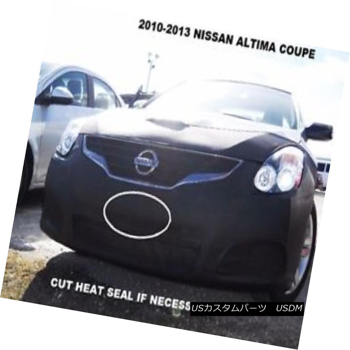 フルブラ ノーズブラ Lebra Front End Mask Cover Bra Fits 2010-2013 Nissan Altima Coupe Lebraフロントエンドマスクカバーブラフィット2010-2013 Nissan Altima Coupe