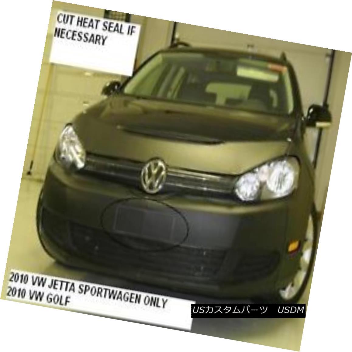 フルブラ ノーズブラ Lebra Front End Mask Cover Bra Fits VW Jetta sportwagen 2010-2014 10 11 12 13 14 LebraフロントエンドマスクカバーブラはVW Jetta sportwagenに適合2010-2014 10 11 12 13 14