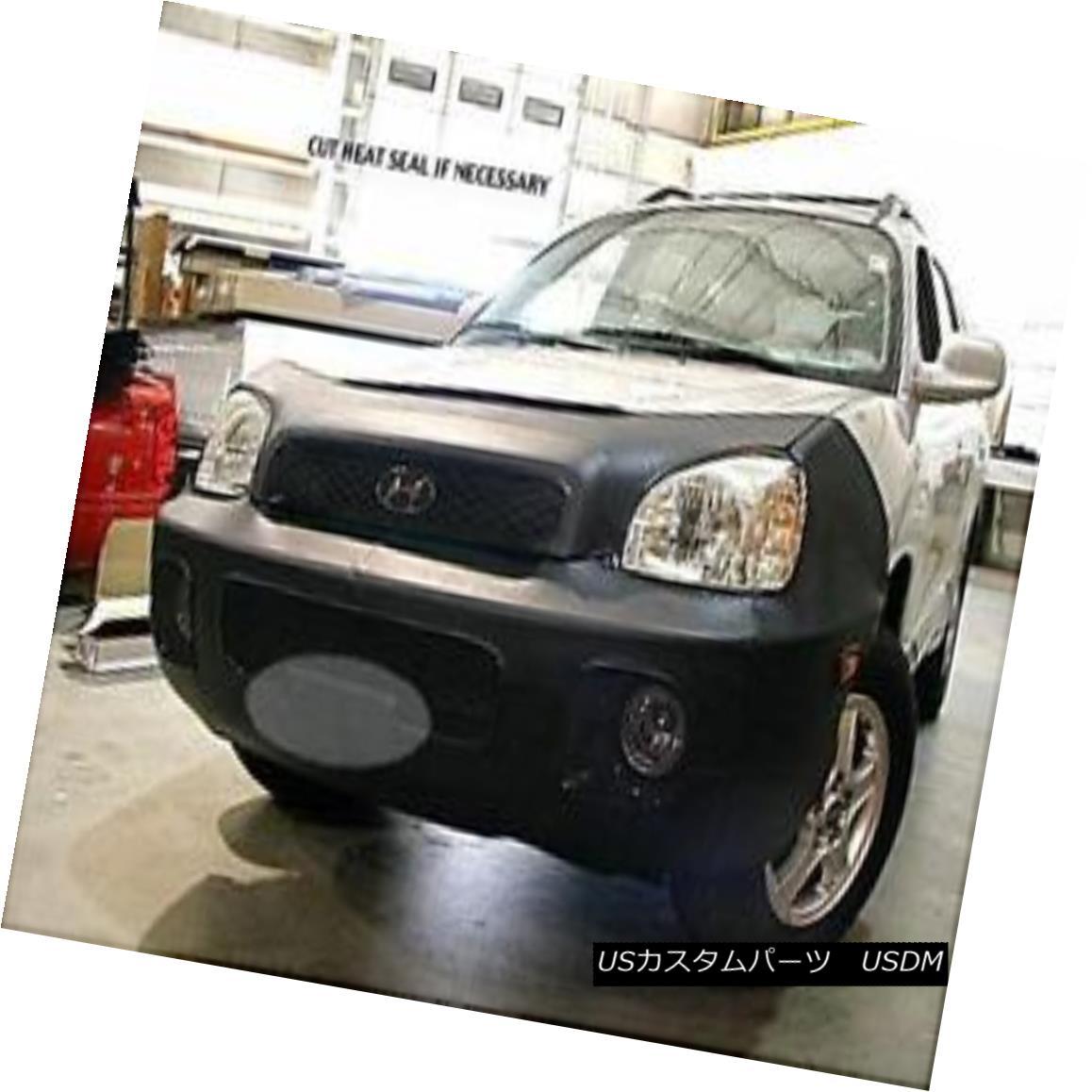 フルブラ ノーズブラ Lebra Front End Mask Cover Bra Fits 2001-2004 Hyundai Santa Fe Lebraフロントエンドマスクカバーブラは2001-2004 Hyundai Santa Feに適合