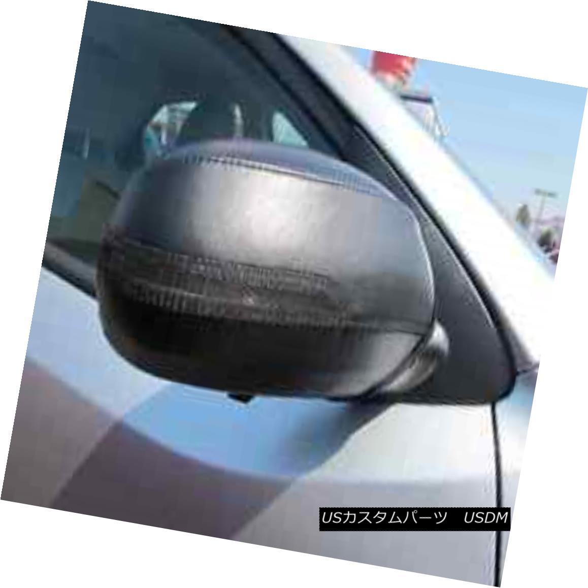 フルブラ ノーズブラ Colgan Car Mirror Covers Bra Protector Black Fits 2010-2013 KIA Forte (W/o Koup) コルガン車のミラーカバーは、ブラジャープロテクターブラックフィット2010-2013 KIA Forte(W / o Koup)