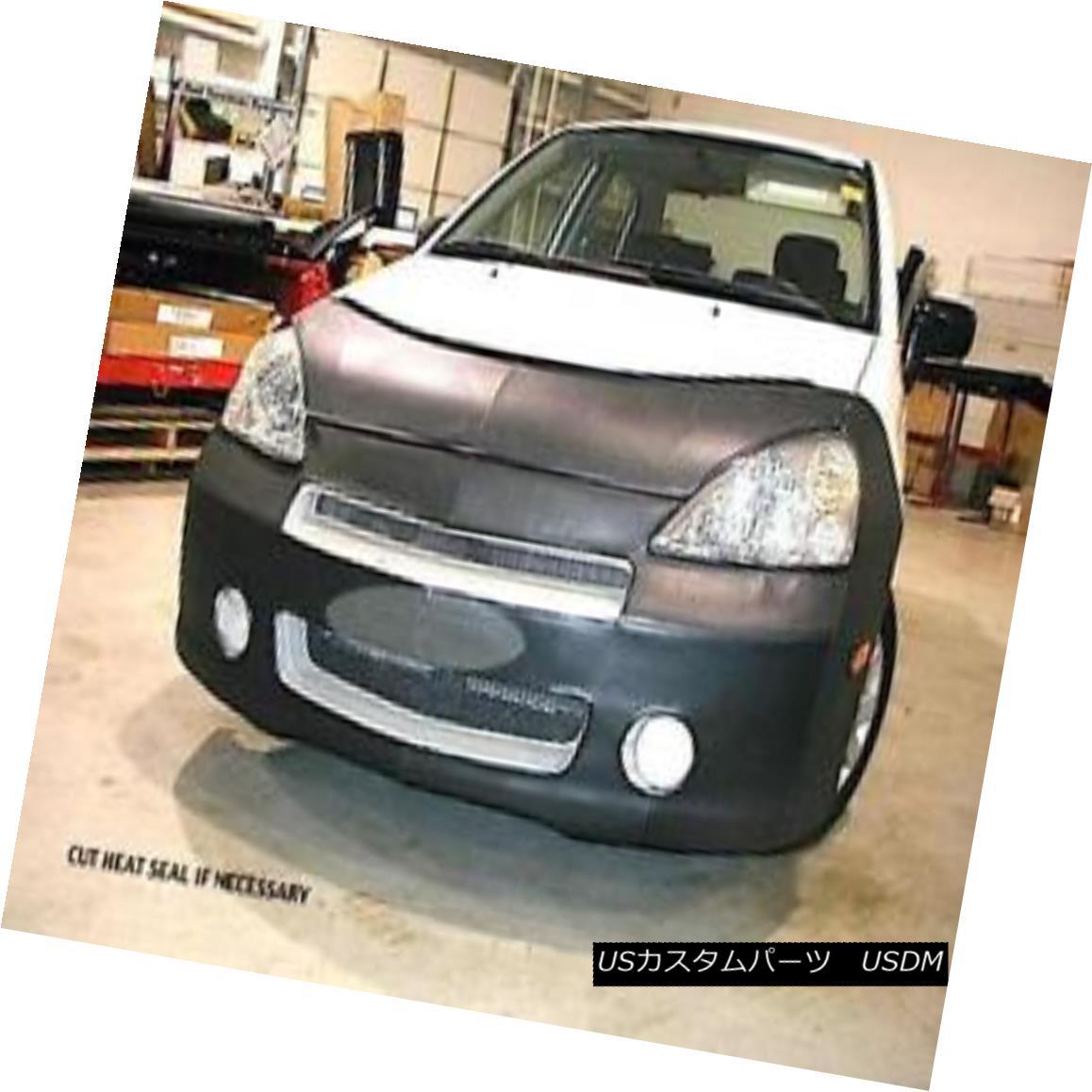 フルブラ ノーズブラ Lebra Front End Mask Cover Bra Fits 2002-2004 SUZUKI Aerio Sedan and SX Wagon Lebraフロントエンドマスクカバーブラは2002-2004年に適合SUZUKI Aerio SedanとSX Wagon